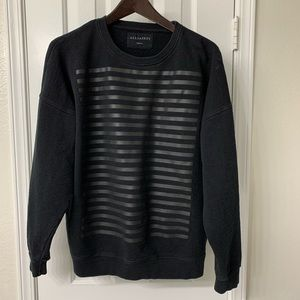All Saints black sweatshirt